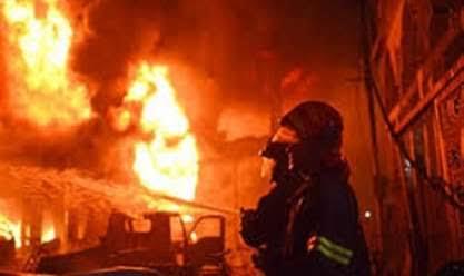 عدة إصابات في حريق شقة سكنية بجدة