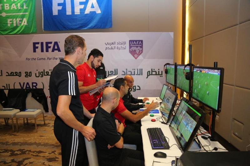دورة تقنية الفيديو في الاتحاد العربي 4