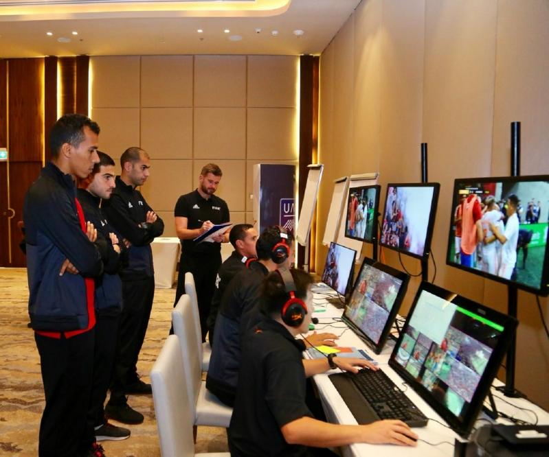 دورة تقنية الفيديو في الاتحاد العربي 6