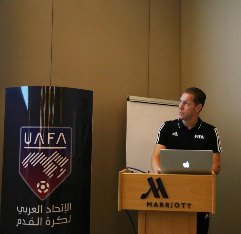 دورة تقنية الفيديو في الاتحاد العربي 7