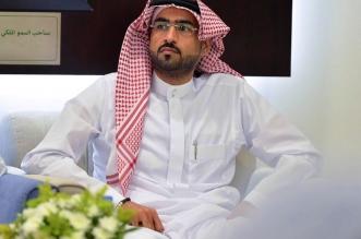 أحمد الصائغ في إحدى اجتماعات الأهلي