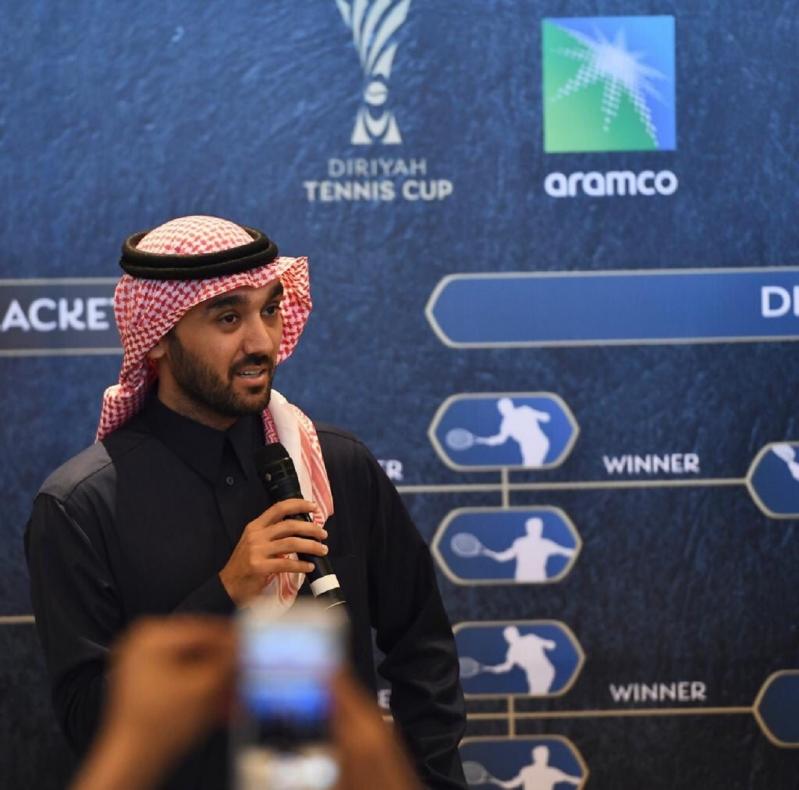 رئيس هيئة الرياضة: بطولة التنس بداية عهد جديد لـ #المملكة