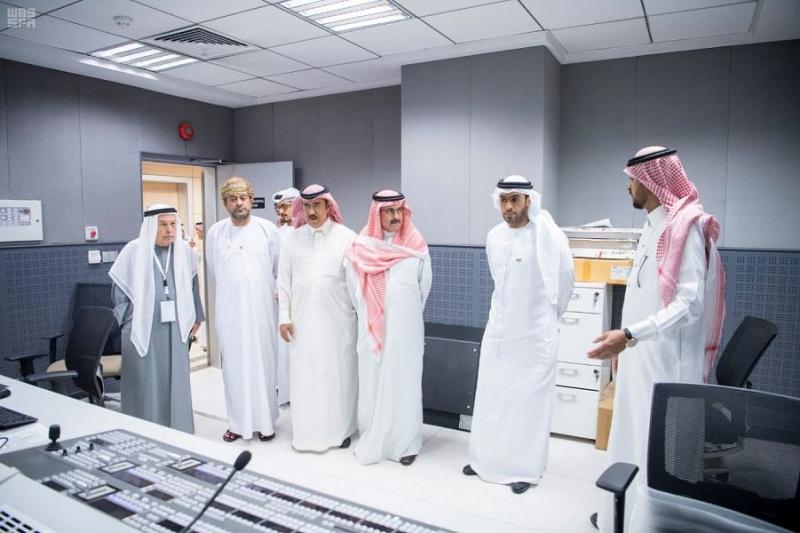 رئيس واس يستقبل عددًا من مسؤولي الإعلام بدول الخليج1