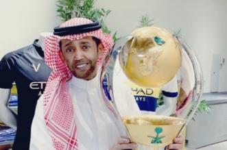عضو شرف نادي النصر الذهبي عبدالعزيز بغلف