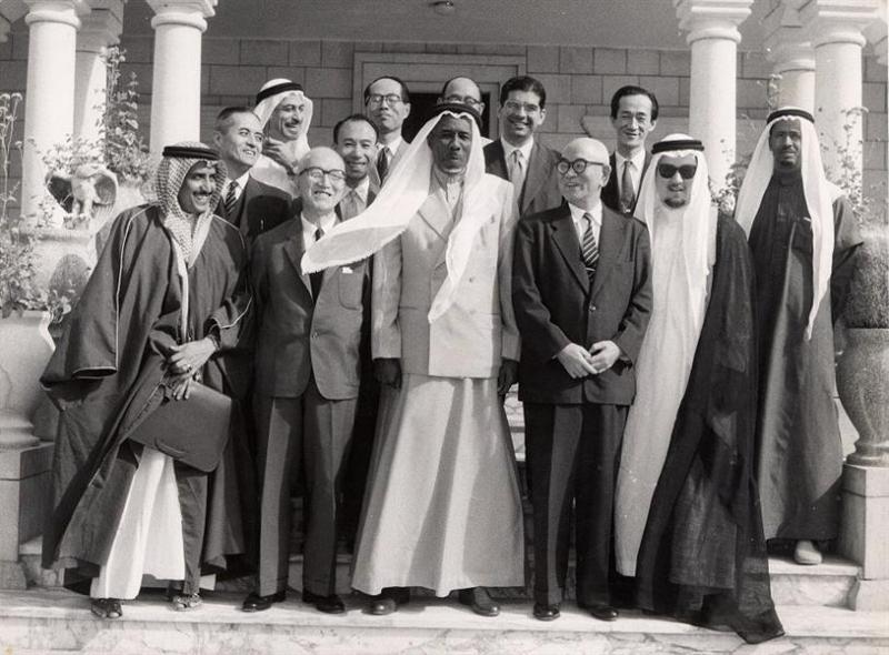 لقطات من توقيع الامتياز النفطي بحضور الملك سعود قبل 61 عاماً - المواطن