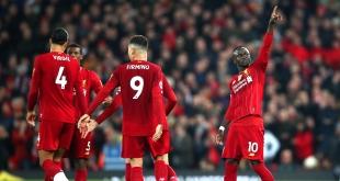 ليفربول يحسم مباراته ضد وولفرهامبتون بهدف ماني