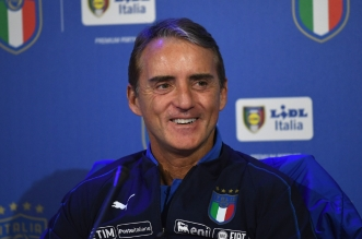 مدرب منتخب إيطاليا مانشيني