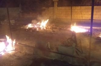 اعتصام في لبنان احتجاجًا على حرق خيام المتظاهرين - المواطن