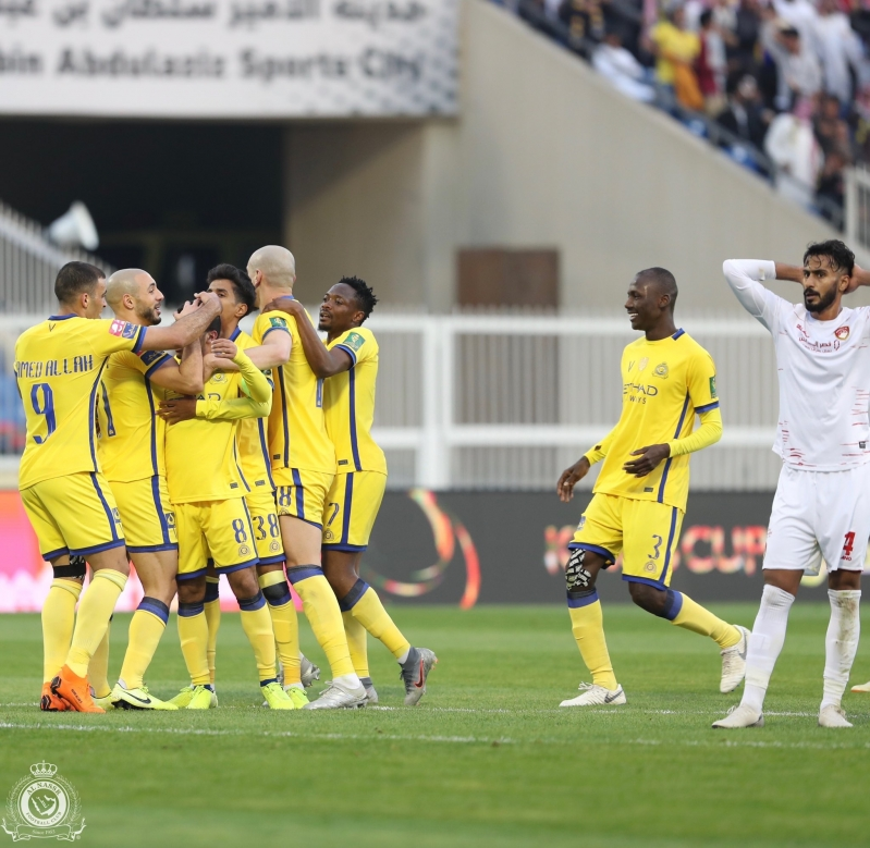 حكم مباراة ضمك ضد النصر في مرمى الانتقادات - المواطن