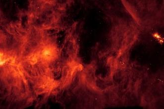 هل تُظهر هذه الصورة نارًا في الفضاء ؟ - المواطن