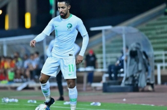 باهبري يُسجل الهدف الثاني للأخضر في شباك #عمان - المواطن
