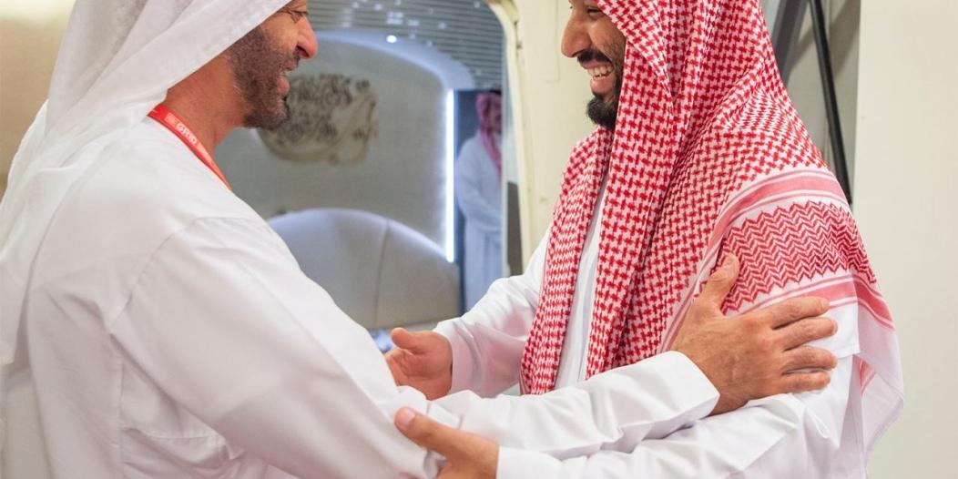 ولي العهد في برقية لمحمد بن زايد: مباحثاتنا المشتركة تعزز العلاقات الثنائية