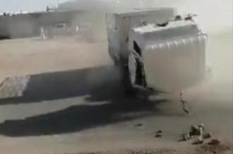 فيديو.. الشاحنة المجنونة تفحط بدون سائق في الرياض - المواطن
