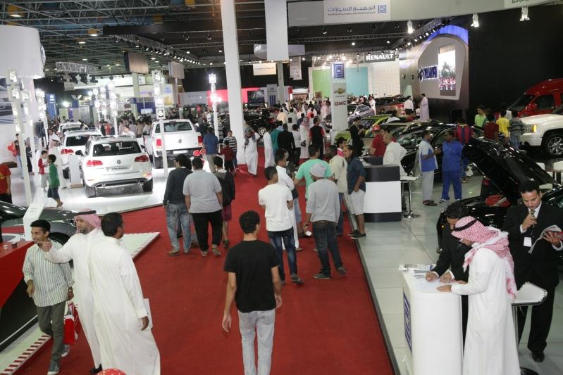 مفاجآت في معرض السيارات السعودي الدولي بجدة