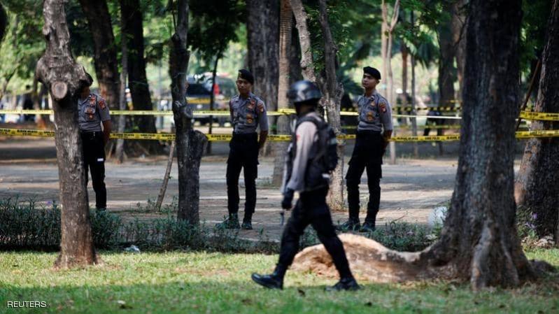 انفجار قرب قصر الرئاسة بإندونيسيا