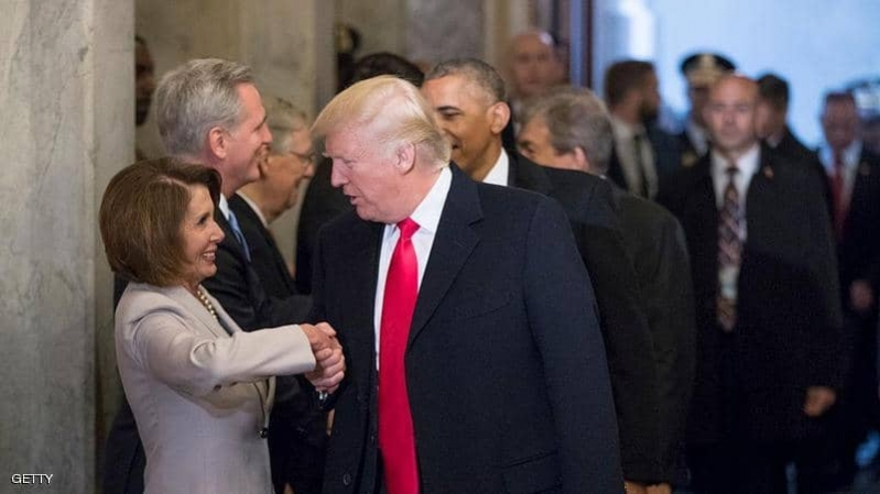 فيديو.. بيلوسي: ترامب يهدد الأمن القومي بتصرفاته الطائشة