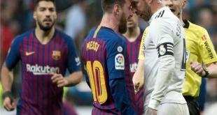 مباراة برشلونة وريال مدريد .. صراع ناري للصدارة