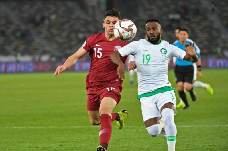 مباراة السعودية وقطر 2019
