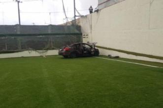 سقطت مركبتهما في الملعب.. سيدتا الباحة في حالة مطمئنة - المواطن