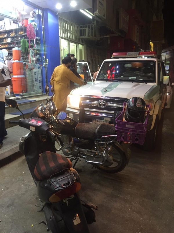 صور.. شرطة القصيم تضبط مخالفي الدراجات النارية