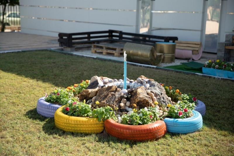 مواطن ينشئ حديقة التدوير في حفر الباطن - المواطن