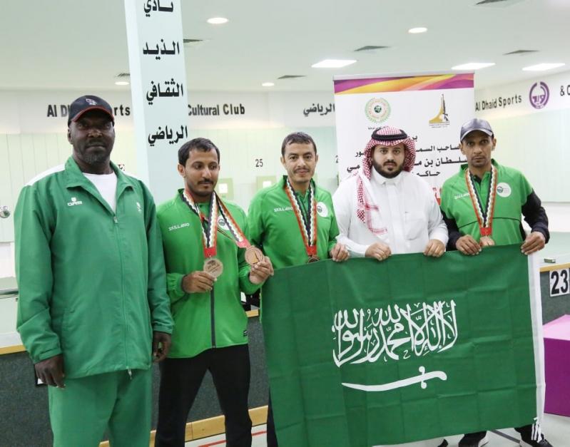 منتخب الأخضر يختتم مشاركته في البطولة العربية للرماية