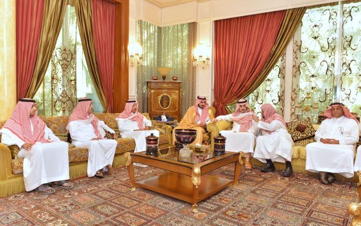 نائب أمير #مكة يواسي ذوي مي آل الشيخ