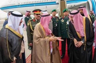 شاهد بالصور .. الملك سلمان يستقبل في أرض المطار قادة الخليج - المواطن