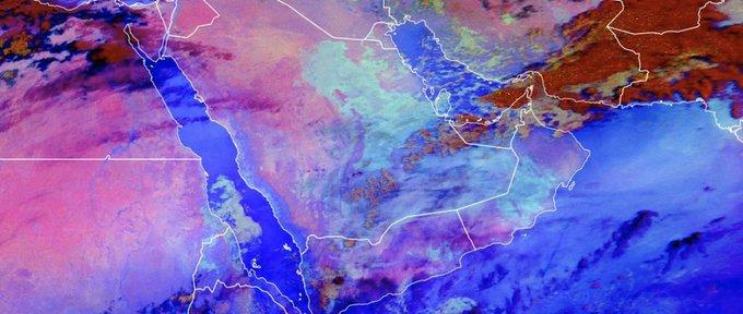 كتلة قطبية تؤثر على أجواء #المملكة الأسبوع القادم