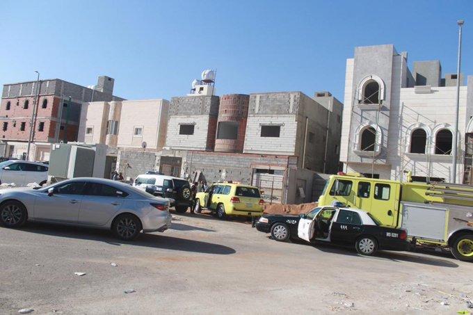 انتشال جثة طفل سوري من منهل حي شوران بـ #المدينة - المواطن
