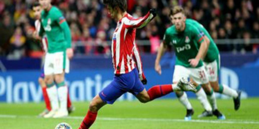 أتلتيكو مدريد ضد لوكوموتيف موسكو .. الإسبان يعبرون الفخ بثنائية