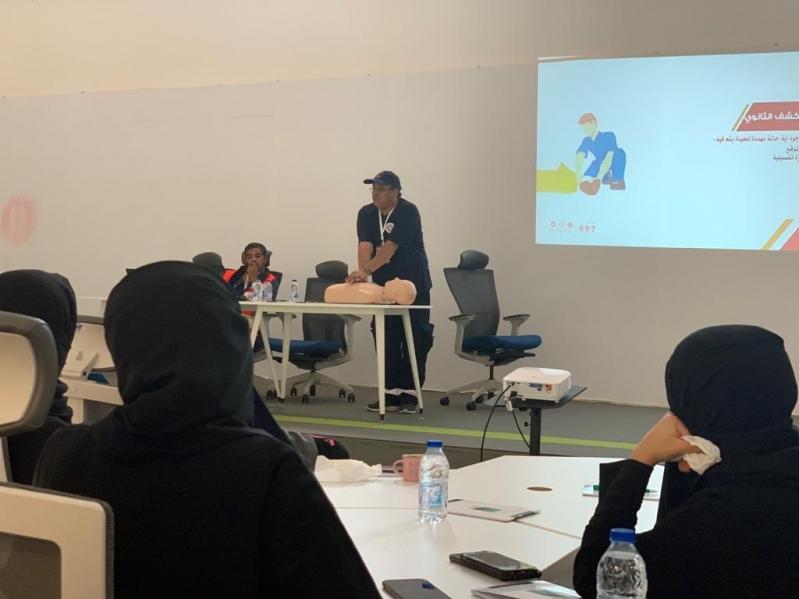 دورات تدريبية عن الإسعافات الأولية لتوعية المواطن