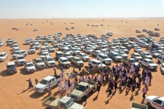 أفخم سيارات الدفع الرباعي بديلًا للهودج في موكب المنقيات - المواطن