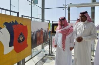 صور.. أمير مكة بالنيابة يتفقد خدمات سجن بريمان للنزلاء - المواطن