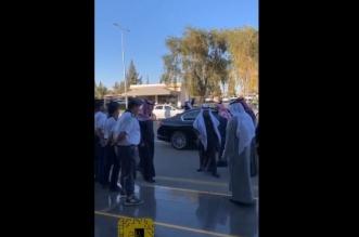 فيديو.. هكذا ودعت جامعة #الجوف مديرها بعد 8 سنوات - المواطن