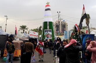صور.. قطع طرق وإغلاق دوائر حكومية في العراق - المواطن