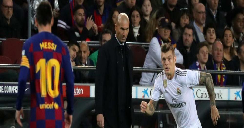 موعد مباراة الريال ضد برشلونة