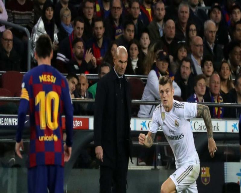 زيدان: سعيد بالتعادل ضد برشلونة