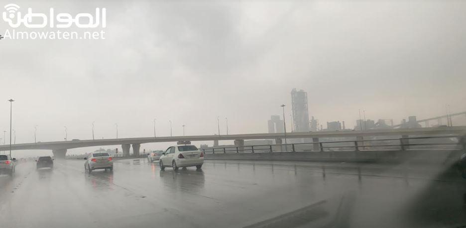 توقعات بأمطار غزيرة وبرد مع سيول على 4 مناطق اليوم
