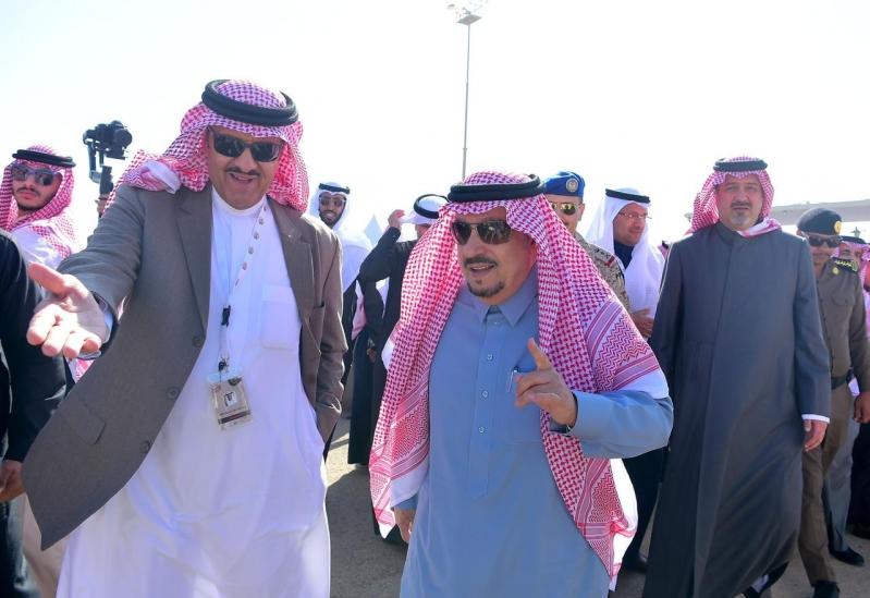 أمير الرياض يفتتح فعاليات ملتقى الطيران العام
