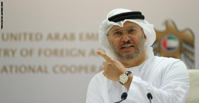 قرقاش: ندعم جهود الرياض لتنفيذ اتفاق الرياض في اليمن