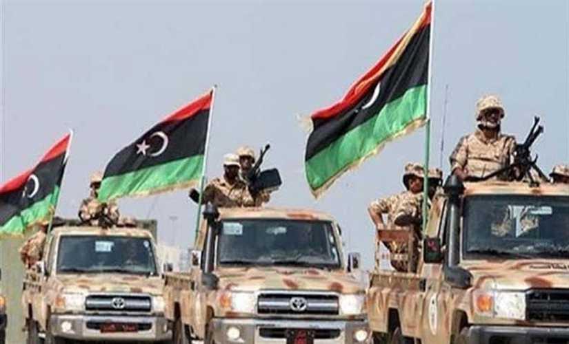 فيديو.. الجيش الوطني الليبي يعلن وقف إطلاق النار في طرابلس