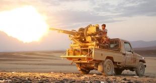 الجيش الوطني اليمني يسقط طائرة مسيرة أطلقتها الميليشيات الحوثية في باقم