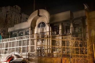 سفارة المملكة في إيران