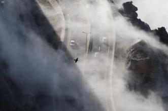 صور.. الضباب يرسم لوحة بانورامية في قمم الهدا والشفا - المواطن