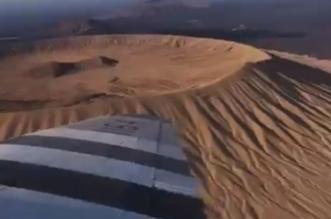 فيديو.. طائرات كلاسيكية تستكشف العلا من السماء - المواطن