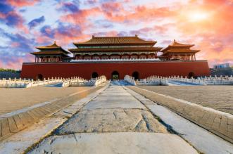 فتاتان تدخلان القصر الإمبراطوري في الصين بالسيارة - المواطن