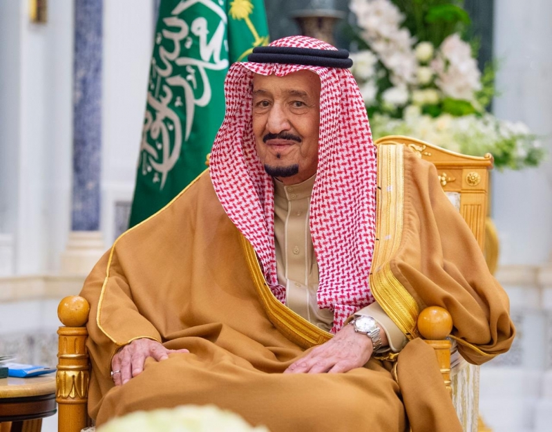 الملك سلمان يتسلم أوراق اعتماد عدد من السفراء