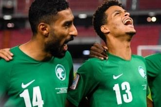 لاعبو المنتخب السعودي