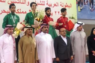 تتويج المنتخب السعودي للمبارزة